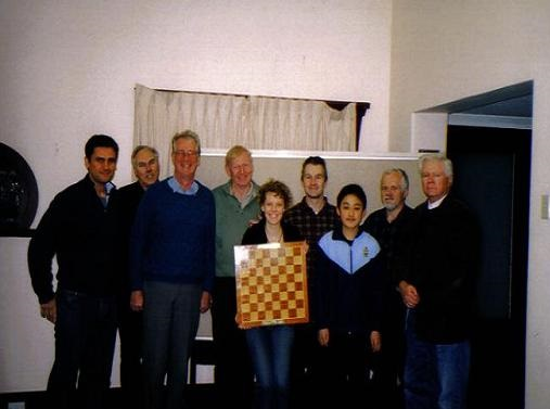 Bernard Anton Shield Inaugural Winners - Perth Chess Club Team